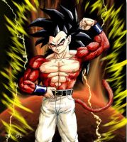 Son Goten SSj4 edited by BK-81