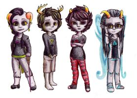 Fantroll concepts by MyaTheSquishyOctopus