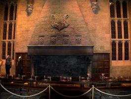 The Fireplace The Great Hall by hellonlegs