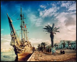 Pirate Ship - Sousse by xanderhyde