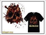 WALKING DEAD SHIRT by CHRISROYAL