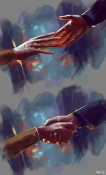 Fires of Pompeii(study) -- Doctor Who by MrBorsch