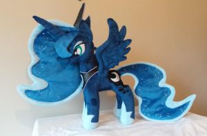 Princess Luna Plush by PlushieScraleos