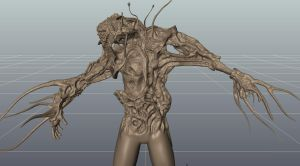 Start of a flood character by MikeJensen