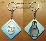 Emperor Penguin Key Chain by Olvium