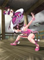 Juri Han Vs Ling Xiaoyu - Incoming by polarityplus