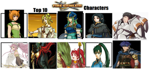 My Top 10 Fire Emblem Characters