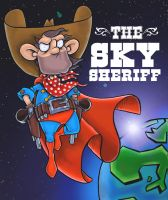 The Sky Sheriff by morseyillustration