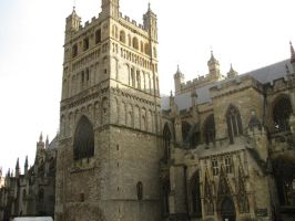 Exeter Cathedral by Katherinelion