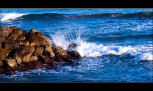 Water and rocks by buligamihai