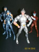 SilverHawks Classics by 4LivingCreatures