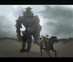 Shadow of The Colossus by Inkyness