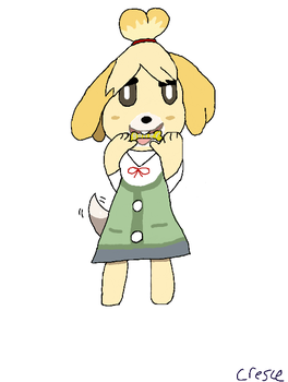 Isabelle (Commission) by Sarryck