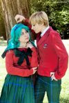Haruka x Michiru _ look each other by FairyScarlet
