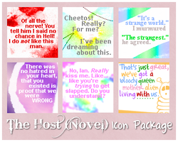 The Host- Quote Icon Package 2 by Inwe1