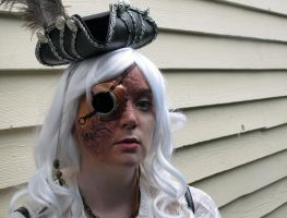 Steampunk Eye Patch by Nefthys