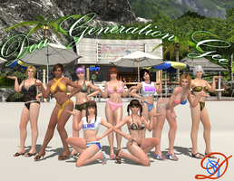 DoA Generation Gee Bikini Version by Shinobis-Destiny