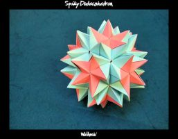 Spiky Dodecahedron II by wolbashi