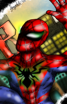 Post-Secret Wars Spider-Man Sketch by Suedeash