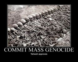 God approves mass genocide by fiskefyren