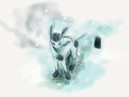 Glaceon by LuminousSky