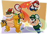 Request-Literally Mario Tennis by MarkProductions