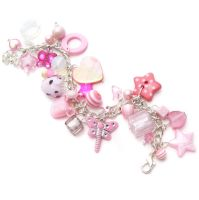 Pink Charm Bracelet 4 by fairy-cakes