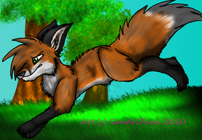 Foxleap - Contest Entry by SandriPaws