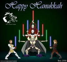 Happy Hanukkah Star Wars fans by bidujador
