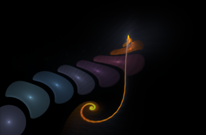 A fractal tail by teddybearcholla