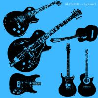 Guitar 01 Vector Brushset by IceXsainT