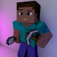 Minecraft Free Renders: Steve! v1 by CraftMeJason