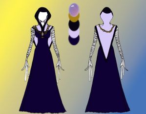 Quietus Designs: River Keeper Gown