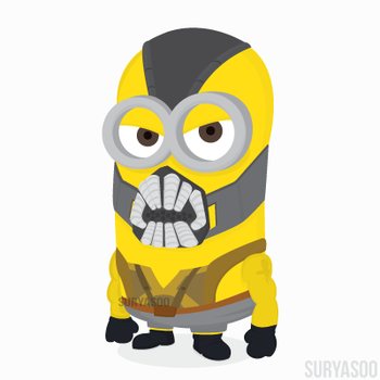 BEN from BATMINIONS by SuryaSoo