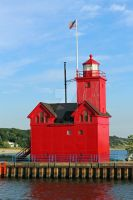 Holland State Park - Big Red 01 by Vimmuse