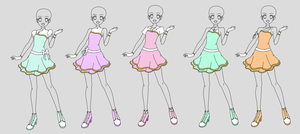Jewel5 Ribbon pop coord by TheLocked
