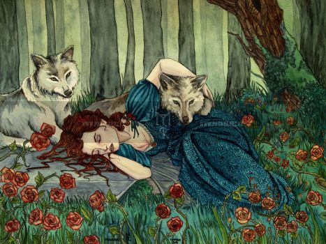 Daughter of wolves by May-Paontaure