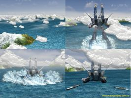 Macross 3d - Stage One by asgard-knight