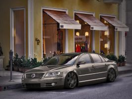VW Phaeton W12 by Clipse89