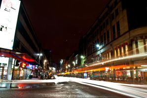 Glasgow by night by Ezekahr