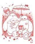 Baymax and Totoro by kehchoonwee