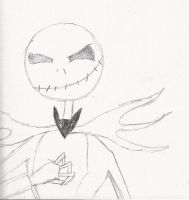 Jack Skellington by Kilalaflames