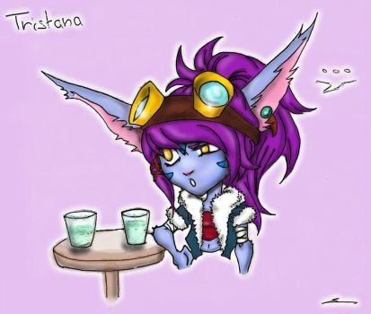 Tristana dragon trainer by Marii-ScriB