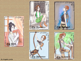 Tomb Raider Cards by Angelic-yunie