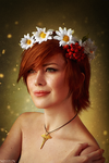 The Witcher - Flower portraits - Shani by MilliganVick
