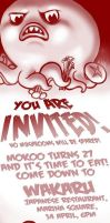 YOU ARE INVITED by mokoo