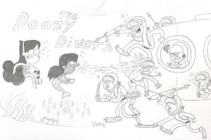 The Doozy Divers by komi114