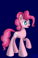 Pinkie Pie (Fully Shaded) by WolfyOmega