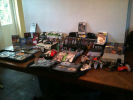Video Game Collection (2015) by elvenbladerogue