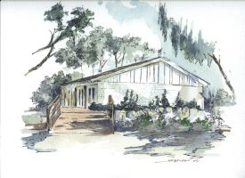 House watercolor 2 by sheldonsartacademy
